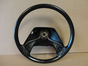 Ford F350 F250 F150 Pickup Truck Factory Leather Steering Wheel 87 91 Xlt Lariat