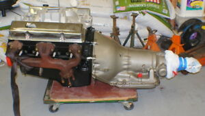 Autozone Remanufactured 350 Chevrolet Engine And Matching Transmission