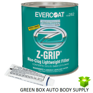 Evercoat Metalworks 282 Z Grip Non Clog Lightweight Auto Body Filler 1 Gallon