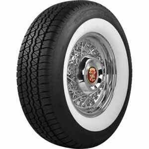 Coker Tire 629703 Bf Goodrich Silvertown Whitewall Radial Tire P235 75r15