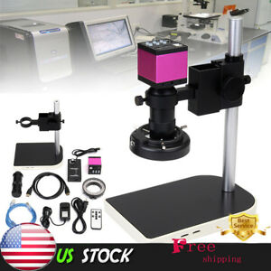 14mp Hdmi Usb Digital Industry Video Microscope Set Camera C mount Lens Dv