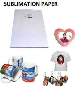 Sublimation Paper 8 5x11 200 Sheets For Polyester Shirts Hard Surfaces