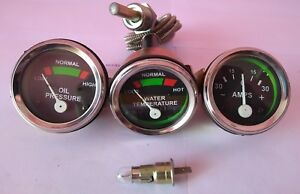 Massey Ferguson Massey Harris Mf Tractor Gauge Set 35 50 65 135 150 165 To20 30