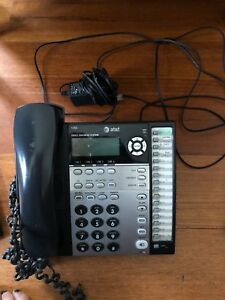 At t 1080 4 line Corded Small Business System Office Phone