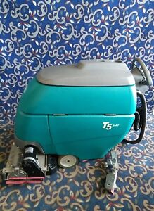 Tennant T5 32 Sweeper Scrubber With Low Hours New Batteries And Free Shipping