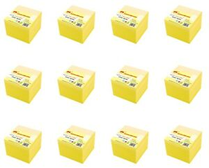 4a Sticky Notes Self stick Notes 3 X 3 Canary Yellow 72 Pads Total 7200 Sheets
