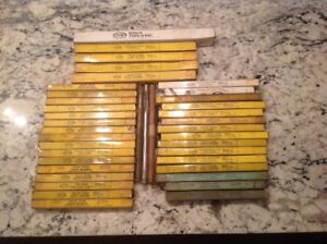 Lot Of 40 Sioux Valve Seat Guide Pilot Stem Reamer Plug Gage Nos New Free Ship