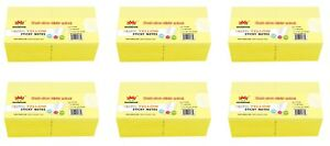 4a Sticky Notes Memo Reminder 3 X 3 Canary Yellow 72 Pads Total 7200 Sheets