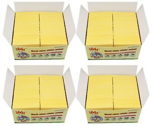 4a Sticky Notes Post It Memo Pad 3 X 3 Canary Yellow 96 Pads Total 9600 Sheets