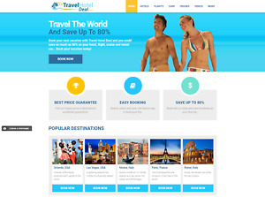 Established Business Turnkey Travel Website For Sale Earn Huge Commissions