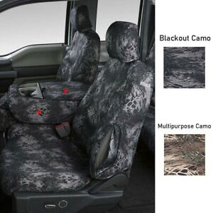 Covercraft Prym1 Camo Seat Covers For Chevy 07 12 Silverado 3500 Hd front Row