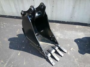 New 16 Jcb 214 Backhoe Bucket With Coupler Pins
