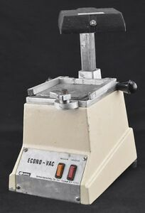 Buffalo Econovac 800w Bench Top Dental Lab Vacuum Forming Machine