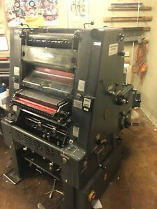 1980 Heidelberg Gto46 With Numbering