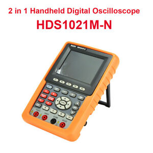 2 In 1 20mhz Hds1021m n Digital Oscilloscope Fft Dso multimeter Circuit Testing