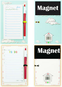 4a Sticky Note Pads With Magnet Memo Pads Lined 5 5 X 3 Inches Total 100 Sheets