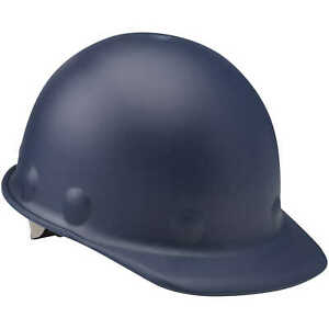 Fibre metal Roughneck P2 Cap Style Hard Hat With Swing Strap Blue