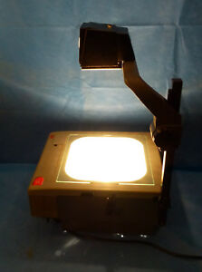 3m 9100 Series Overhead Projector With 2 New Enx 360 Watt Bulbs