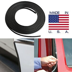 Black Door Edge Guard Trim Molding Car Suv Truck Made In The Usa Fast Shipping