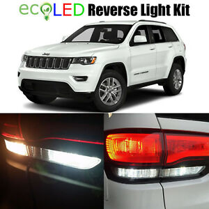 4 Led Reverse Backup Lights For 2011 2018 Jeep Grand Cherokee Wkt 921 T15 7440