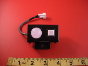 Yazaki Hps bg3 Pushbutton Lamp Switch Light Hpsbg3 Dc24v 10ma Pb 1a New Nnb