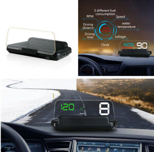 Obd2 Car Vehicle On board Computer Tool Led Display Green White Light Color