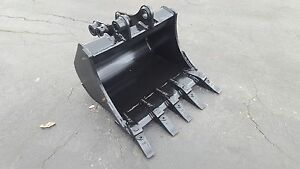 New 24 Excavator Bucket For A New Holland E27 With Pins