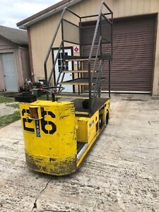 Elektro Ut 736a Utility Truck tug Electric 36 Volt With Stairs Unique