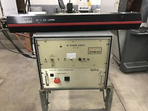 Epilog Synrad 57 1 100 Watt Co2 Laser Tested 111 Watts
