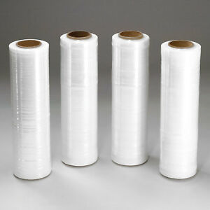 80 Gauge Stretch Wrap Film 18 X 1500 Clear For Hand Dispenser 144 Pack Lot