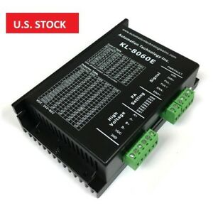 Us Ship Digital Stepper Driver 24 80vdc 2 0 6 0a For Nema 17 23 And 34 Motor