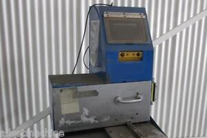 1 Halla Climate Control Pin Type Engraving Machine Used Am13582