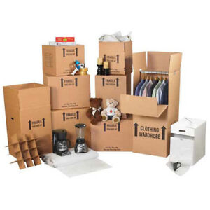Box Partner Deluxe Home Moving Kit Lot Of 1