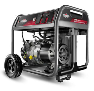 New 30622 Briggs And Stratton Portable Generator 6250 Starting Watts 5000 Runn