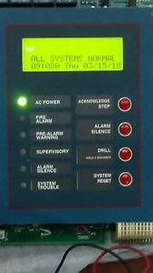 Pre Owned Notifier Afp 200 Network Compatible Fire Alarm Control Panel Defaulted