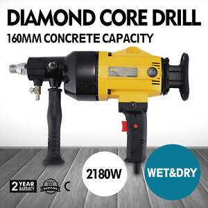 Vevor Handheld Diamond Core Drill Rig With 2 Gear Speeds Cuts Holes Up To 6