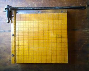 Vintage Ingento No 3 Small Paper Cutter 10