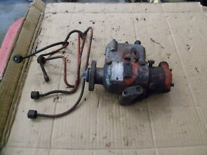 Ford Tractor Ind Engine Fuel Injection Pump 144 172 192d Ford 600 800