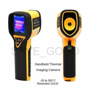 Handheld Thermal Imaging Camera 32x32 Resolution 4to 572 f Temperature Humidity