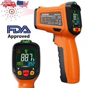 Infrared Thermometer Non contact Digital Laser Ir Temperature Gun Kitchen Meat