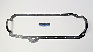 Sbc Chevrolet Small Block Oil Pan Gasket 1 Piece Chevy 60 85 Lh Made In Usa