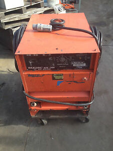 s h Quote lincoln Idealarc R3r 300 Dc Arc Welder W Long 130 Ext Power Cable