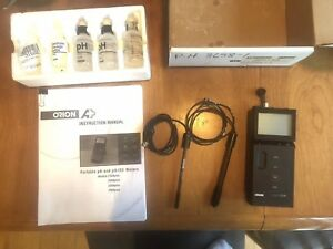 Orion 210a Ph Benchtop Meter Electrode And Temperature Probe Included Plus More