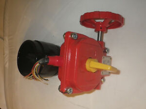4 Grooved Butterfly Fire Protection Valve With Tamper Switch Reliable Bfg 300