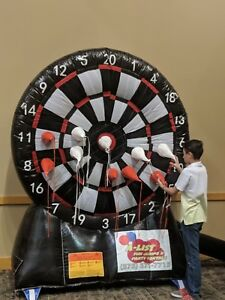 Commercial Inflatable Dart Board over 8ft high $700.00