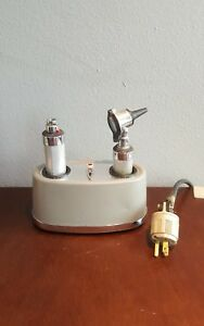 Vintage Welch Allyn Lot Desktop Charger 71100 For 71500 71670 Plus Accessories
