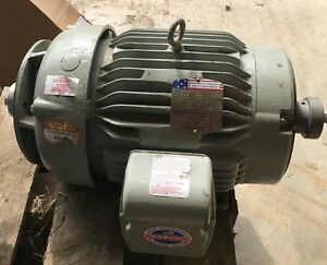 Baldor Ac Motor Ccam3787 4 5hp 3ph 1750 Rpm Double Shaft And Two Pumps