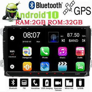 For Vw Volkswagen Tiguan Android 9 0 Wifi 2din Radio Gps 9 Car No Dvd Player Bt