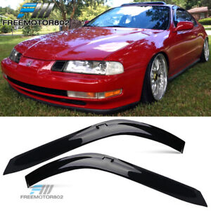Fits 92 96 Honda Prelude Slim Style Acrylic Window Visors 2pc Set