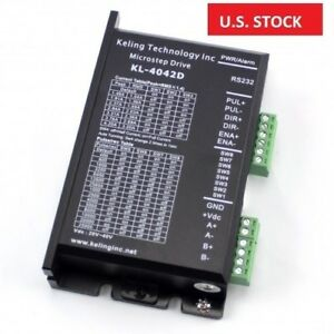 Us Ship Digital Stepper Driver 0 5 4 2a 20 40vdc For Nema17 23 34 Stepper Motor